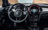 9 Mini JCW 2021 UK LHD FD dashboard