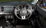 Mitsubishi Lancer Evo X - interior