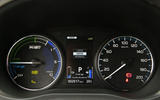 Mitsubishi Outlander PHEV 2018 first drive review instrument cluster