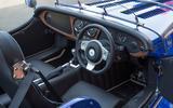 Morgan Plus 8 2018 review interior