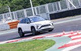 Nio ES6 2019 first drive review - cornering front