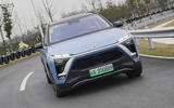 Nio ES8 2018 first drive review - cornering front