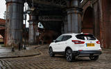 Nissan Qashqai 2018 UK first drive review - static rear