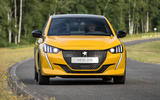Peugeot 208 2020 prototype drive - on the road nose