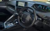 Peugeot 3008 Hybrid 2021 UK review - dashboard