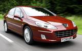 Peugeot 407 - hero front