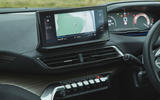 Peugeot 5008 2020 UK First Drive review - infotainment