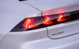 Peugeot 508 Hybrid4 2020 first drive review - rear lights