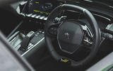 9 Peugeot 508 PSE 2021 UK first drive review dashboard
