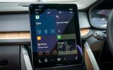 Polestar 2 2020 UK first drive review - infotainment
