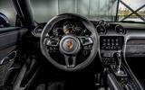 Porsche 718 Boxster GTS 4.0 PDK 2020 UK first drive review - dashboard