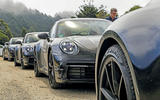 2019 Porsche 911 prototype first ride - convoy static