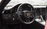 Porsche 911 GT3 RS 2018 review cabin