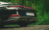9 Porsche 911 GT3 Touring 2021 LHD UK exhausts