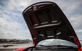 Porsche 911 Speedster 2019 first drive review - bonnet