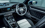 Porsche 911 Turbo S Cabriolet 2020 UK first drive review - cabin
