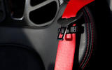 Porsche Boxster T 2019 first drive review - seatbelts