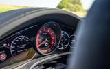 Porsche Cayenne GTS 2020 UK first drive review - instruments