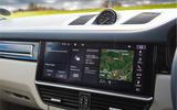 Porsche Cayenne Turbo S E-Hybrid 2020 UK first drive review - infotainment