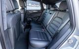 Porsche Macan S 2019 first drive review - rear seats