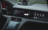 9 Porsche Taycan RWD 2021 UK first drive review infotainment