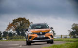 Renault Captur E-Tech PHEV RHD 2020 UK first drive review - on the road front