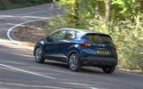 Renault Captur Iconic TCe 90 2018 UK first drive - cornering rear
