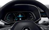 Renault Captur PHEV - dashboard