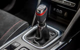Renault Megane Sport 2020 UK first drive review - gearstick