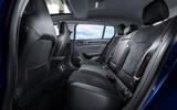 Renault Megane Sport Tourer E-Tech PHEV 2020 first drive review - rear seats