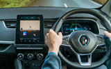 Renault Zoe 2020 UK first drive review - dashboard