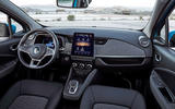 Renault Zoe GT Line R135 2019 first drive review - cabin