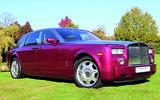 Rolls-Royce Phantom - front