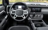 9 Rover Defender PHEV 2021 UK FD dashboard