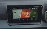 9 Seat Arona FL 2021 FD infotainmentscreen