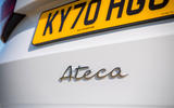 Seat Ateca Xperience 2020 UK first drive review - rear badge
