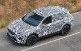 Seat Tarraco Prototype first drive 2018 on the road above