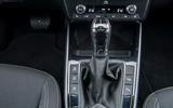 9 Skoda Fabia 2021 LHD UK first drive gearstick
