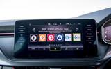 9 Skoda Kamiq Monte Carlo 2021 UK first drive infotainment