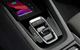 Skoda Octavia IV 2020 first drive review - gearstick