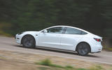 Tesla Model 3 Standard range Plus 2019 first drive review - on the road side