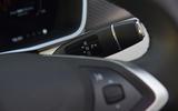 Tesla Model S 75D 2018 first drive review gearstick