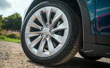 Tesla Model X Long Range 2019 UK first drive review - alloy wheels