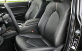 Toyota Camry 2019 European first drive review - front seats