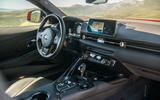 Toyota GR Supra 2019 first drive review - dashboard