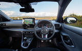 Toyota GR Yaris 2020 UK first drive review - dashboard