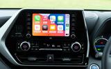 9 Toyota Highlander 2021 UK first drive review infotainment