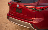 Toyota Highlander Hybrid 2020 first drive review - rear end