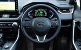 9 Toyota RAV4 PHEV 2021 UK first drive review dashboard