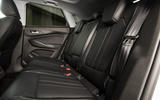 Vauxhall Grandland X 1.5 Turbo D 2018 first drive review - rear seats